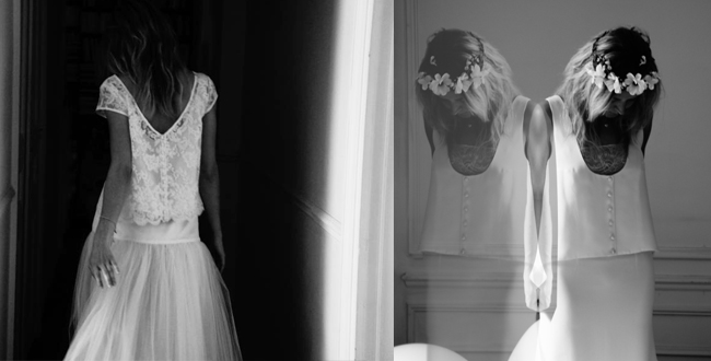 Elise Hameau, créatrice de robes de marié